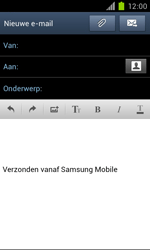 Samsung I9100 Galaxy S II - OS 4 ICS - E-mail - hoe te versturen - Stap 6