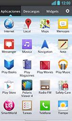 LG Optimus L5 II - Mensajería - Configurar el equipo para mensajes de texto - Paso 3