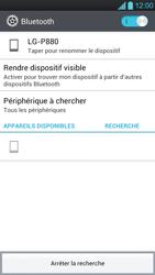 LG P880 Optimus 4X HD - Bluetooth - Jumeler avec un appareil - Étape 7