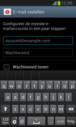 Samsung I9105P Galaxy S II Plus - E-mail - e-mail instellen: IMAP (aanbevolen) - Stap 5