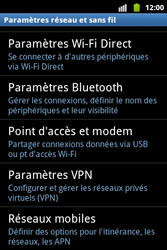 Samsung S5690 Galaxy Xcover - Internet - Configuration manuelle - Étape 5
