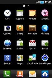 Samsung S5830 Galaxy Ace - Voicemail - handmatig instellen - Stap 3