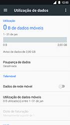 Nokia 3 - Internet no telemóvel - Como ativar os dados móveis -  5