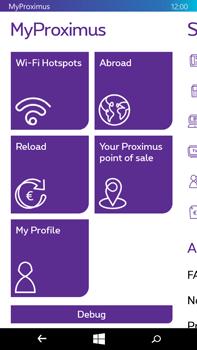 Microsoft Lumia 640 XL - Applications - MyProximus - Step 23