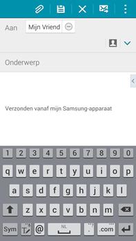 Samsung N910F Galaxy Note 4 - E-mail - hoe te versturen - Stap 8