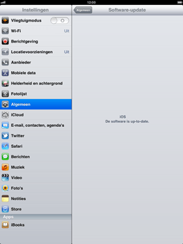 Apple iPad - Software updaten - Update installeren - Stap 5