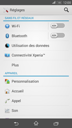Sony E2003 Xperia E4G - Wifi - configuration manuelle - Étape 3