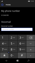 Microsoft Lumia 550 - Voicemail - Manual configuration - Step 9