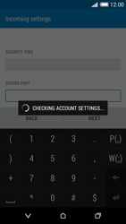 HTC Desire 816 - E-mail - Manual configuration - Step 13