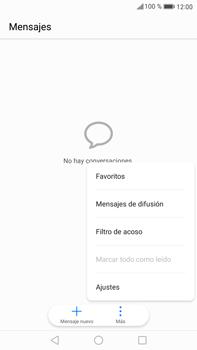 Huawei Mate 9 - Mensajería - Configurar el equipo para mensajes de texto - Paso 4