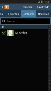 Samsung Galaxy Note 3 - Mensajería - Escribir y enviar un mensaje multimedia - Paso 8