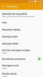 Samsung Galaxy A5 - SMS - Como configurar o centro de mensagens -  6