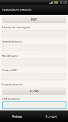 HTC S728e One X Plus - E-mail - Configuration manuelle - Étape 11
