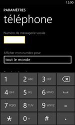 Nokia Lumia 820 LTE - Messagerie vocale - Configuration manuelle - Étape 7
