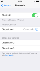 Apple iPhone SE iOS 11 - Bluetooth - Conectar dispositivos a través de Bluetooth - Paso 7
