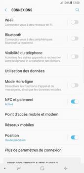 Samsung Galaxy Note 8 - Réseau - Changer mode réseau - Étape 5