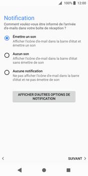 Sony Xperia XZ2 - E-mail - Configurer l
