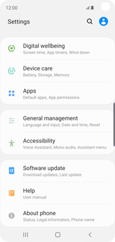 Samsung Galaxy S10e - Device - Factory reset - Step 5