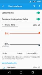 Sony Xperia Z5 - Internet - Ver uso de datos - Paso 11