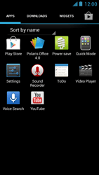 Acer Liquid Z5 - Internet - Enable or disable - Step 3