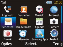 Samsung S3570 Chat 357 - SMS - handmatig instellen - Stap 3