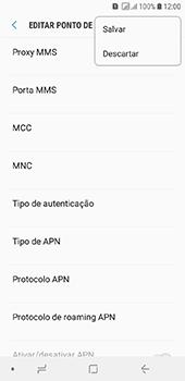 Samsung Galaxy J6 - Internet (APN) - Como configurar a internet do seu aparelho (APN Nextel) - Etapa 16