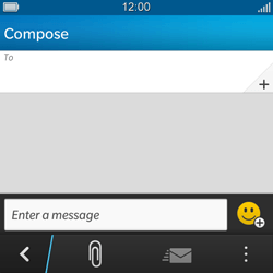 BlackBerry Q5 - MMS - Sending a picture message - Step 4