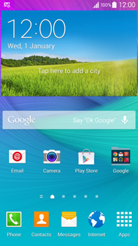Samsung N910F Galaxy Note 4 - Internet - Automatic configuration - Step 3