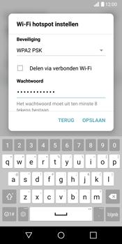 LG G6 (LG-H870) - WiFi - Mobiele hotspot instellen - Stap 7