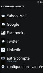Nokia Lumia 710 - E-mail - Configurer l