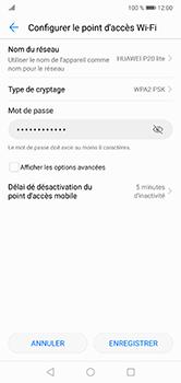 Huawei P20 lite - Internet et connexion - Partager votre connexion en Wi-Fi - Étape 7