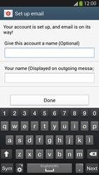 Samsung I9505 Galaxy S IV LTE - E-mail - Manual configuration IMAP without SMTP verification - Step 18
