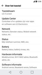 LG X Screen - Netwerk - Software updates installeren - Stap 6