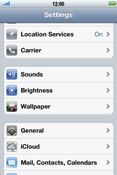 Apple iPhone 4 S - Email - Manual configuration - Step 3