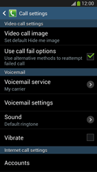 Samsung C105 Galaxy S IV Zoom LTE - Voicemail - Manual configuration - Step 6