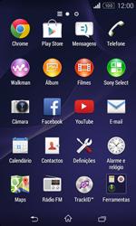 Sony Xperia E1 - Internet no telemóvel - Como configurar ligação à internet -  18