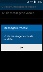 Samsung G355 Galaxy Core 2 - Messagerie vocale - configuration manuelle - Étape 9