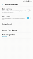 Samsung G920F Galaxy S6 - Android Nougat - Network - Manually select a network - Step 6