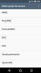 Sony Xperia XA1 - Mensajería - Configurar el equipo para mensajes multimedia - Paso 14