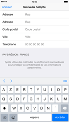 Apple iPhone 6 Plus - Applications - Créer un compte - Étape 22
