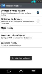 LG G2 - Réseau - Utilisation à l