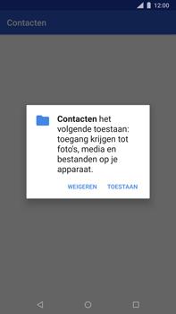 Nokia 8 Sirocco - Contactgegevens overzetten - delen via Bluetooth - Stap 7