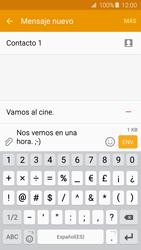 Samsung Galaxy A5 (2016) - Mensajería - Escribir y enviar un mensaje multimedia - Paso 16