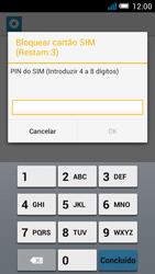 Alcatel POP C7 - Segurança - Como ativar o código PIN do cartão de telemóvel -  7