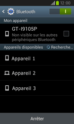 Samsung I9105P Galaxy S II Plus - Bluetooth - connexion Bluetooth - Étape 8