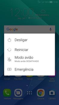 Asus Zenfone Selfie - Funções básicas - Como reiniciar o aparelho - Etapa 3