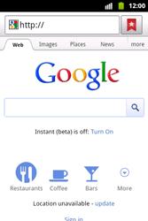 Samsung S5690 Galaxy Xcover - Internet - Internet browsing - Step 4
