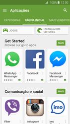 Samsung Galaxy S6 Edge - Aplicações - Como pesquisar e instalar aplicações -  5