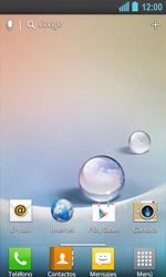 LG Optimus L5 II - Mensajería - Configurar el equipo para mensajes de texto - Paso 1