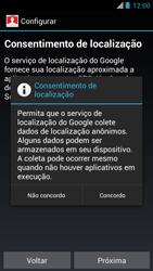Motorola XT910 RAZR - Primeiros passos - Como ativar seu aparelho - Etapa 9